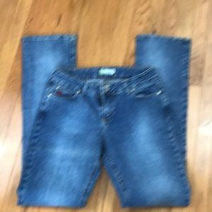 "Wrangler twenty X jeans  9/10 36"" length 0210"
